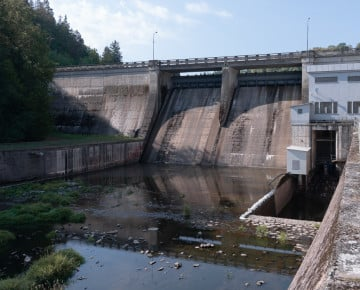 Křižanovice - water dam