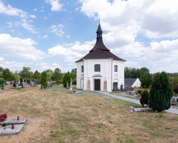 The church of st. Martina Chrašice