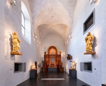 Chrudim - Church/ museum Baroque sculptures
